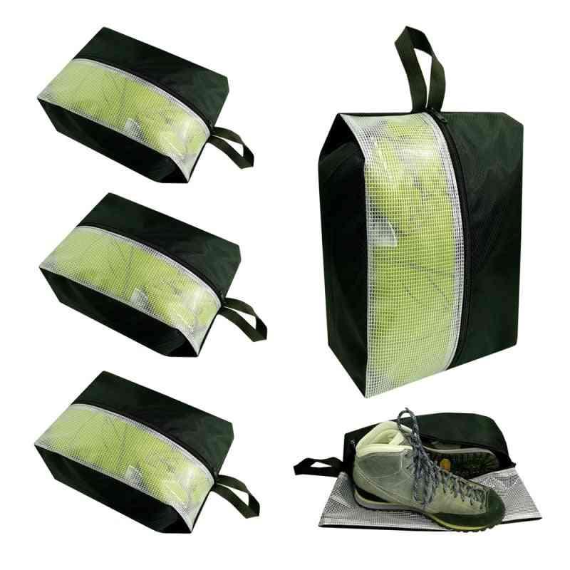 Travel Portable Waterproof Beach Storage Bag, Storage Shoe Bag