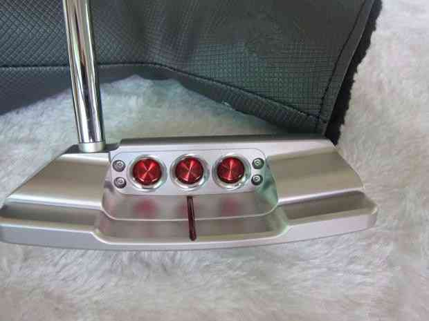 Golf Clubs, Tsb Putter, Putter Steel Shaft With Head Cover