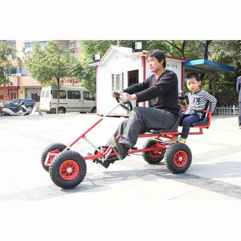 Go Kart Can Carry A Passenger Kid, Adult Go-karts With Hand Brake