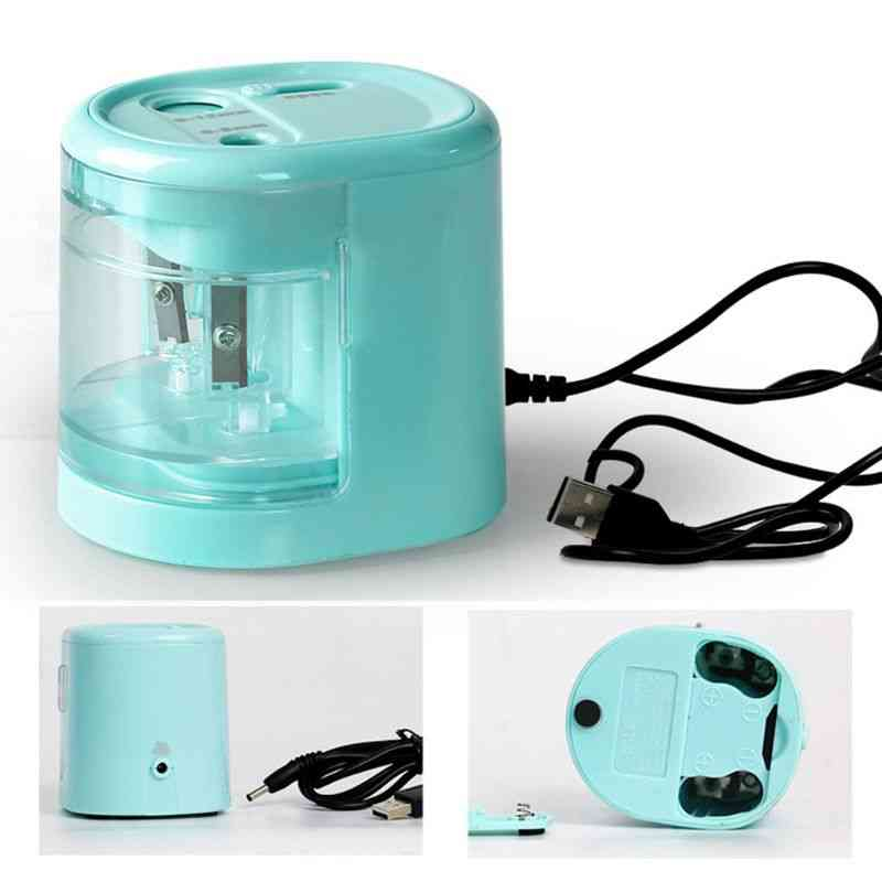 Electric Innovative Automatic  Double Hole Pencil Sharpener