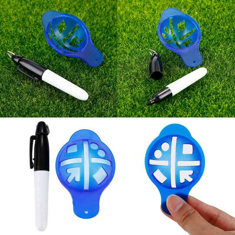 Golf Ball Liner Markers Pen, Drawing Alignment Marks, Putting Line Training Accessories
