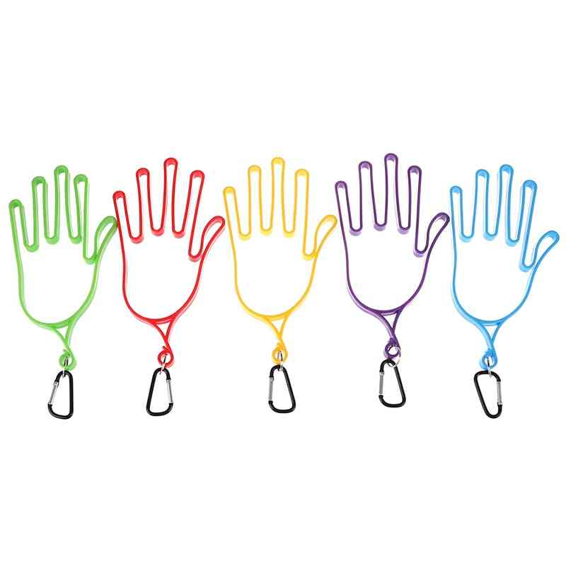 Golf Gloves, Stretcher Golfer Tool, Gear Plastic, Holder Rack Dryer Hanger, Stretcher With Strap