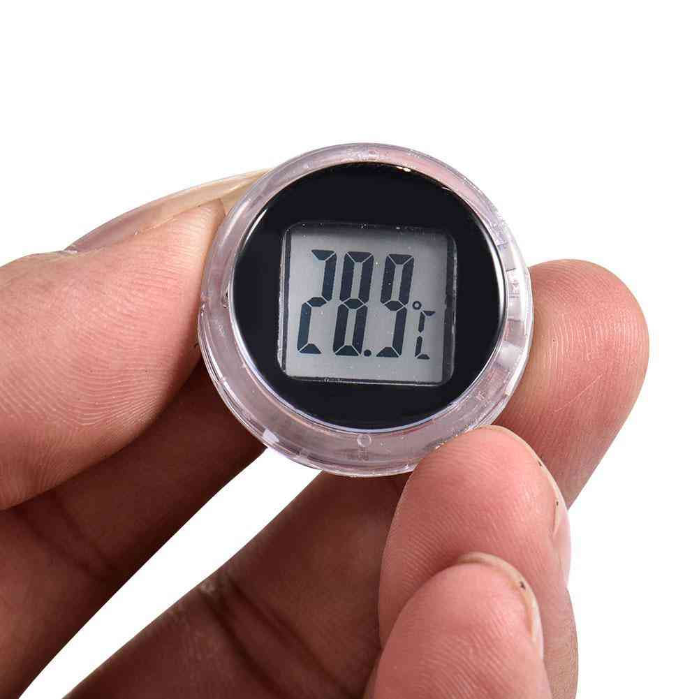 Motorcycle Digital Thermometer Clock