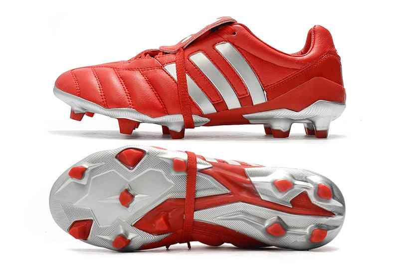 Men Football Boots, Low Ankle, Lace-up Soccer Shoes, Cleats