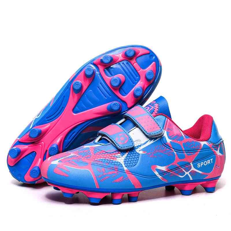 Soccer Shoes, Kids,,, Cleats Training Football Boots, Sport Sneakers