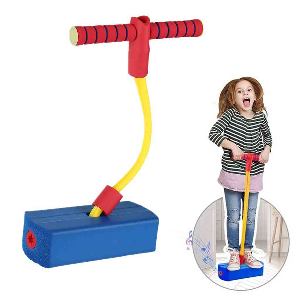 Foam Pogo Stick Balance Trainer Jumping Game Elastic Sports Fitness Equipment With Handles