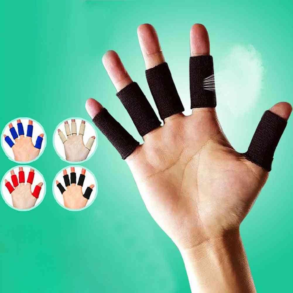 10x Breathable Stretchy Finger Protector Sleeve Bandage