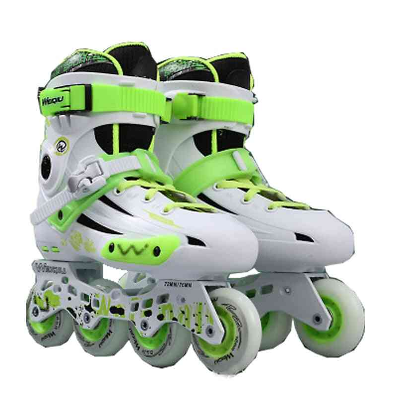Adult Inline Skate Shoes, Women Roller Skating, Patins Ice Hockey Wheels