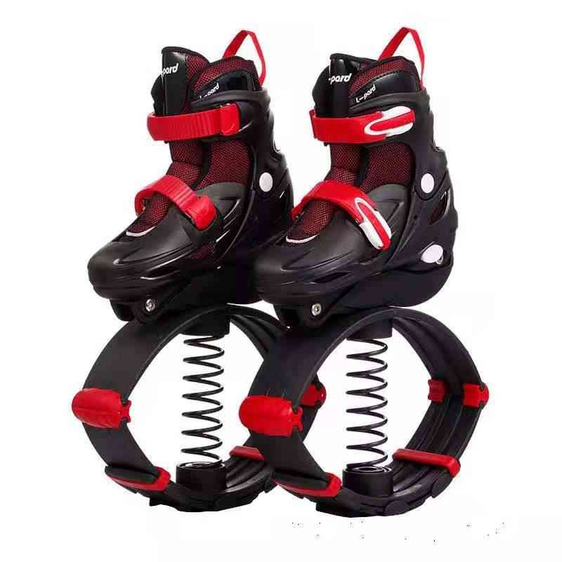 Boys Jump Shose, Teenager Jumping Sports, Fitness Equipment, Daily Street Figure, Adjustable Sneakers