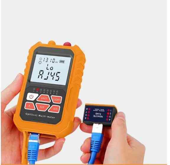 Optical Fiber Tester Power Meter Visual Fault Locator Network Cable