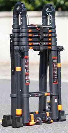 Multifunctional Folding Telescopic Aluminum Alloy Ladder