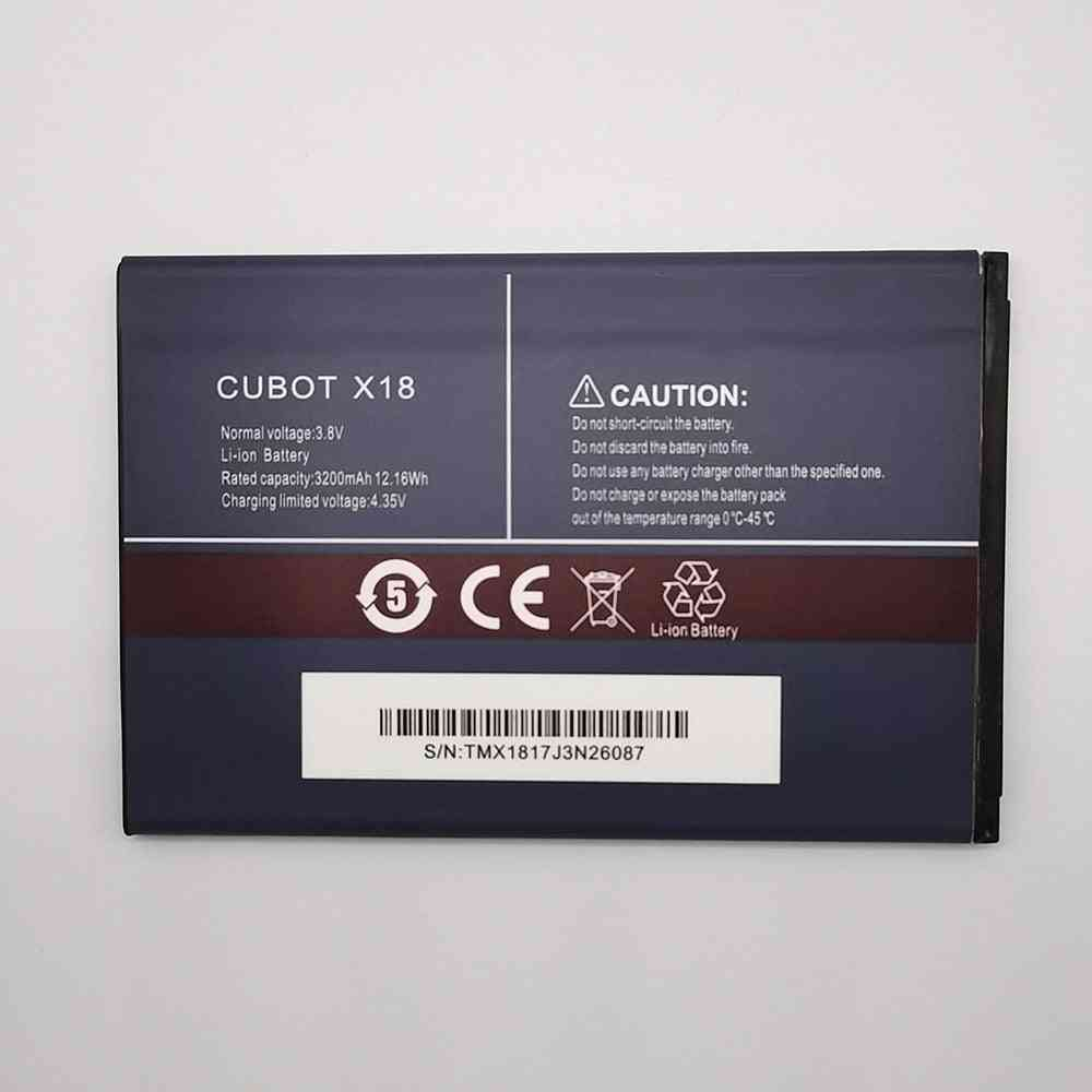 3200mah 3.8v Rechargeable Cubot X18 Cell Phone Battery