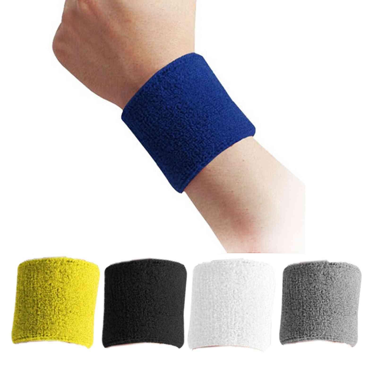 Cotton Wristbands Sport & Wrist Support Brace Wraps Guards