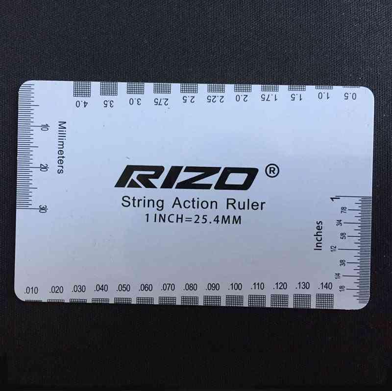 Guitar Measuring Tool Plectrum Dedicated Ruler