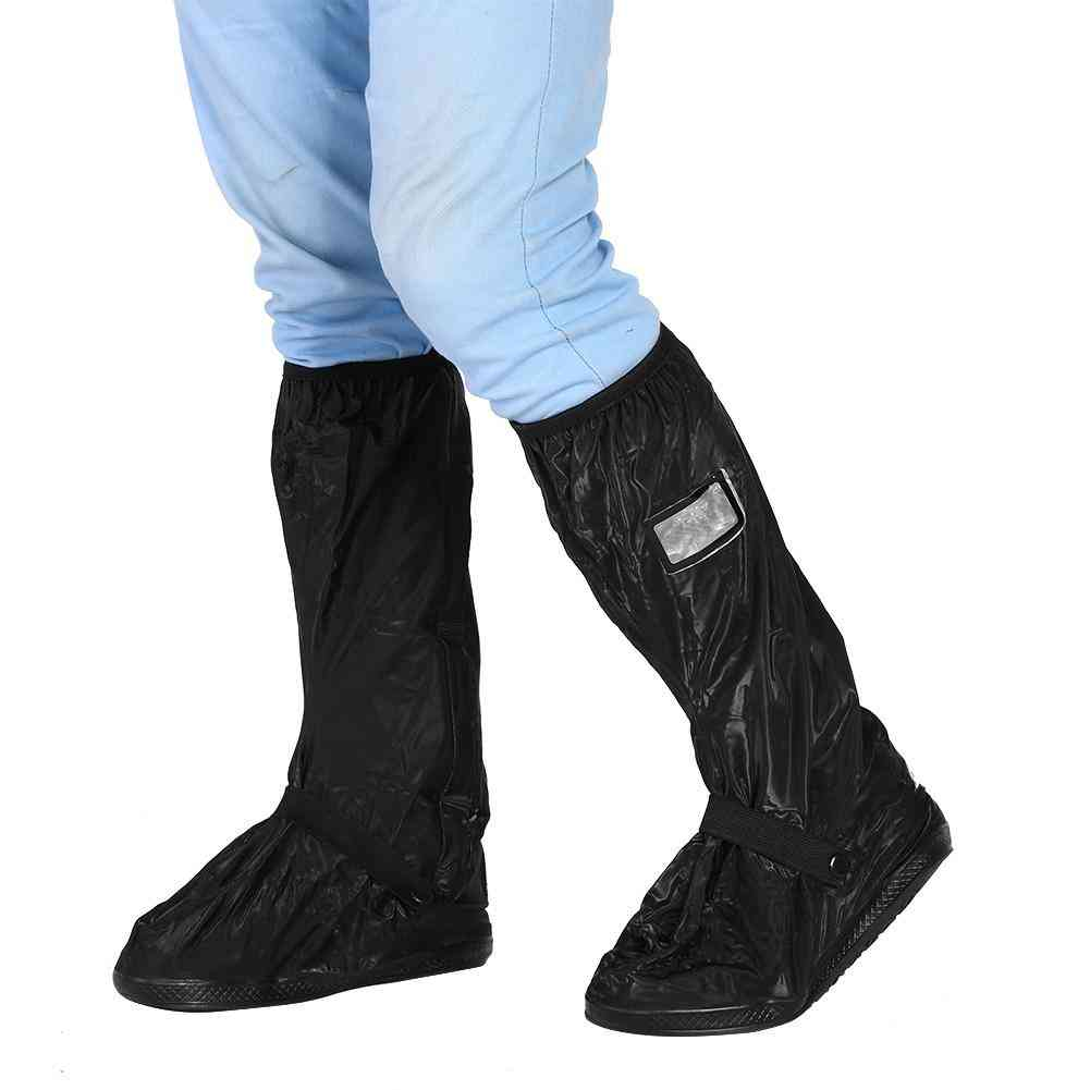 Motorcycle Scooter Bike Cycling Waterproof Rain Shoes Cover