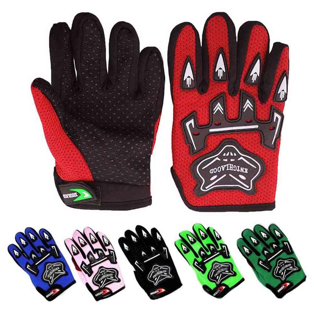Youth Kid Full Finger Motocross Gloves