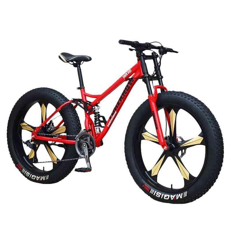 Adult Mountain Fat Bike, Speed Road Bicycle Men
