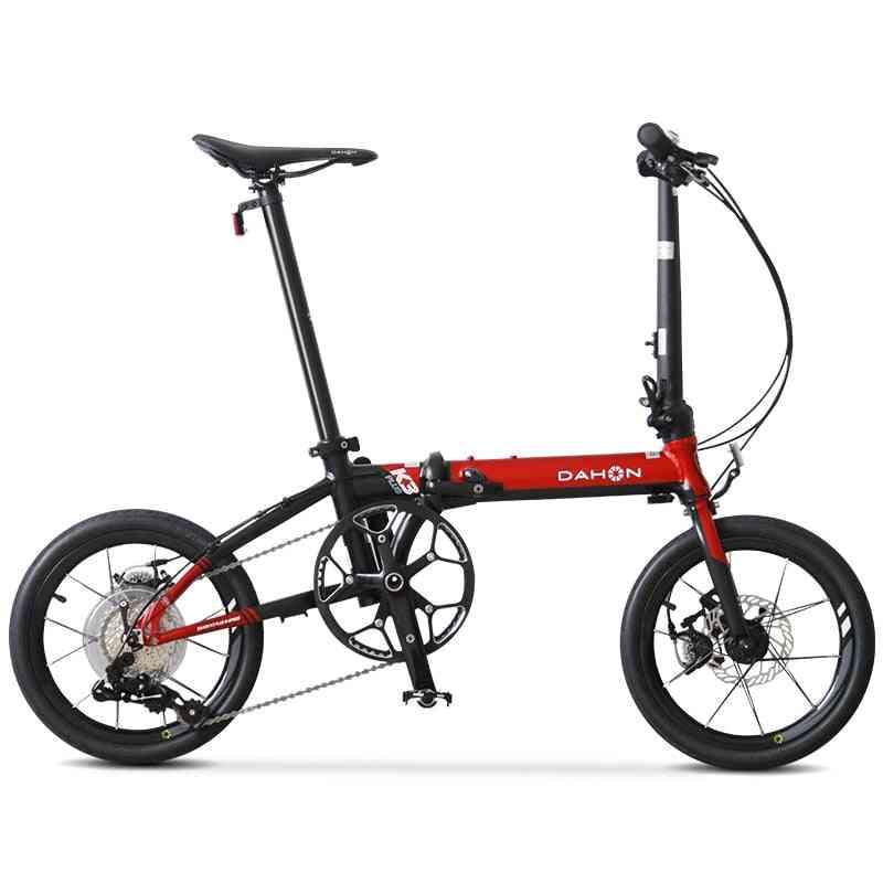 K3 Plus Folding Bicycle, Aluminum Alloy Frame Cycle