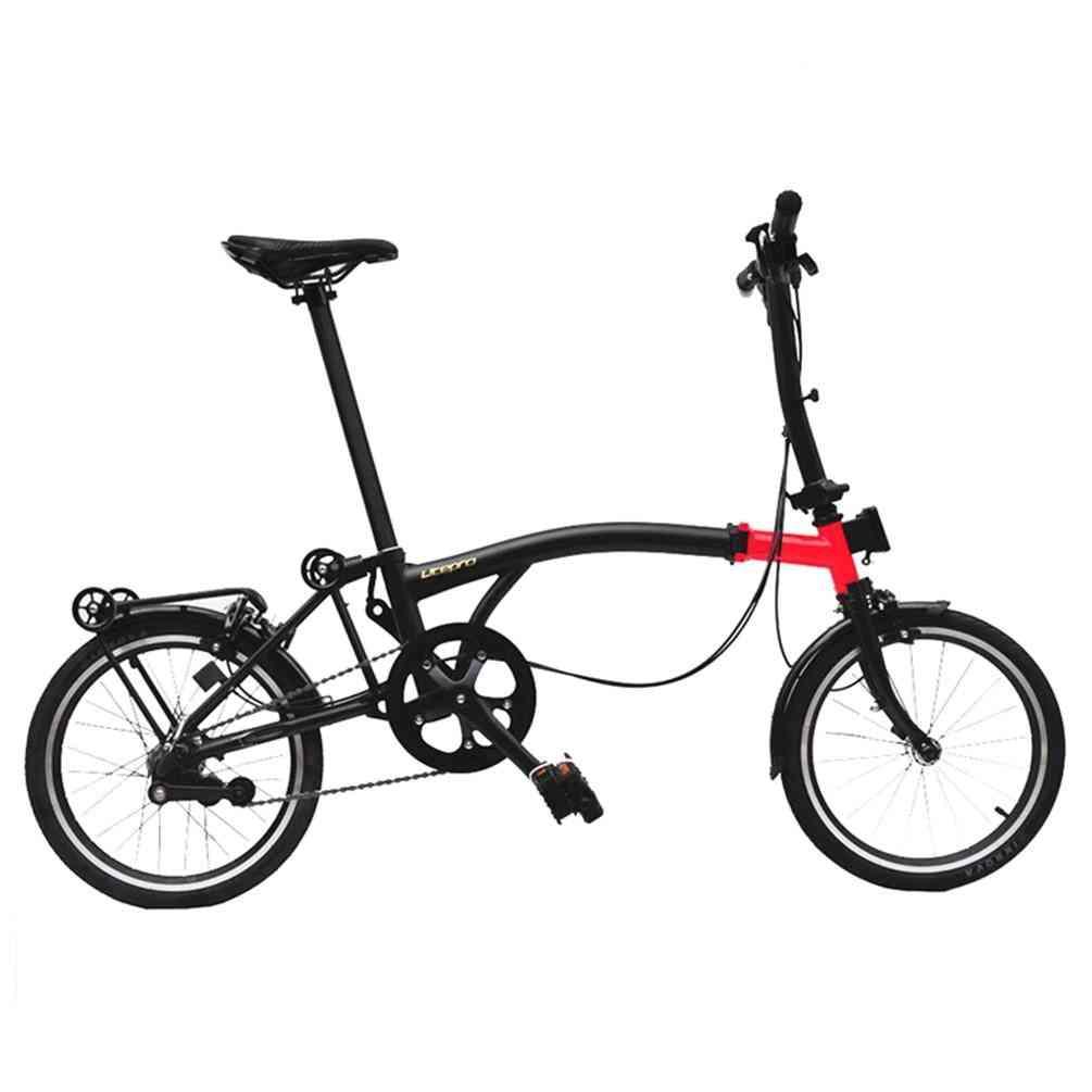 Litepro Folding Bike, Speeds Steel Frame Bicycle