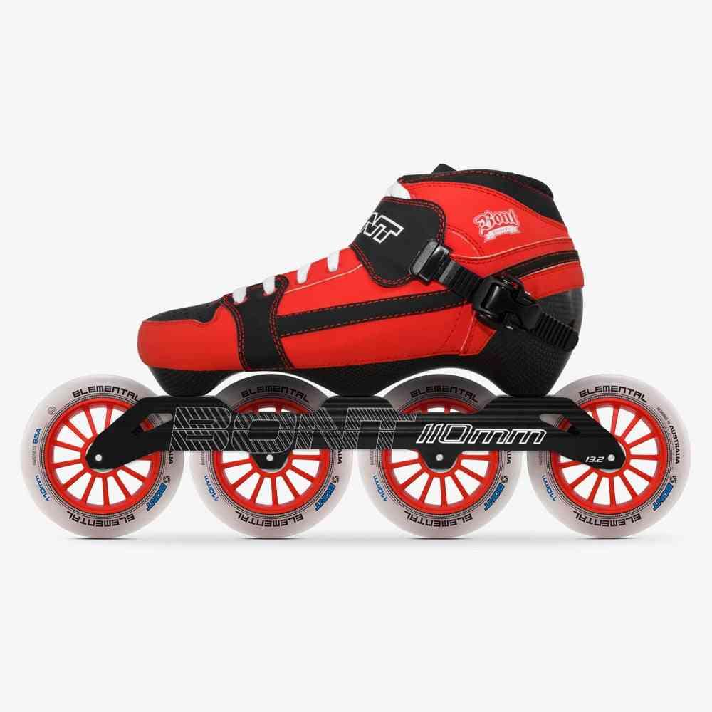 100% Original Bont Pursuit 3pt Speed Inline Skates Heatmoldable Carbon Fiber Boot