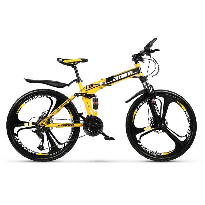 Adult Off-road Mountain Bike, Speed Foldable Road Bicycle