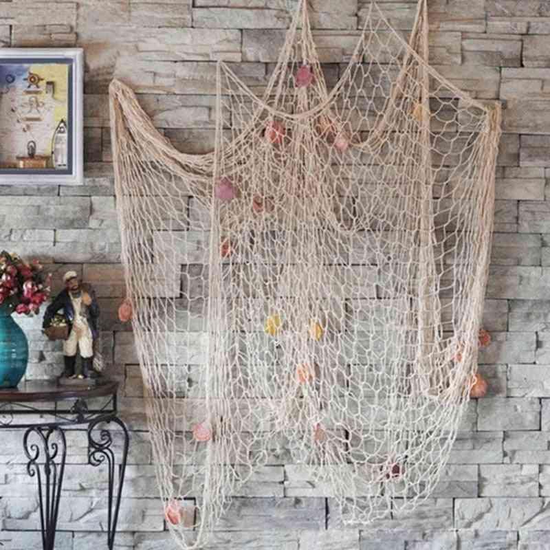 Mediterranean Style Handmade Decorative Fishing Net