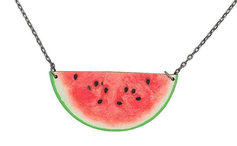 Watermelon Pattern Necklace #6108