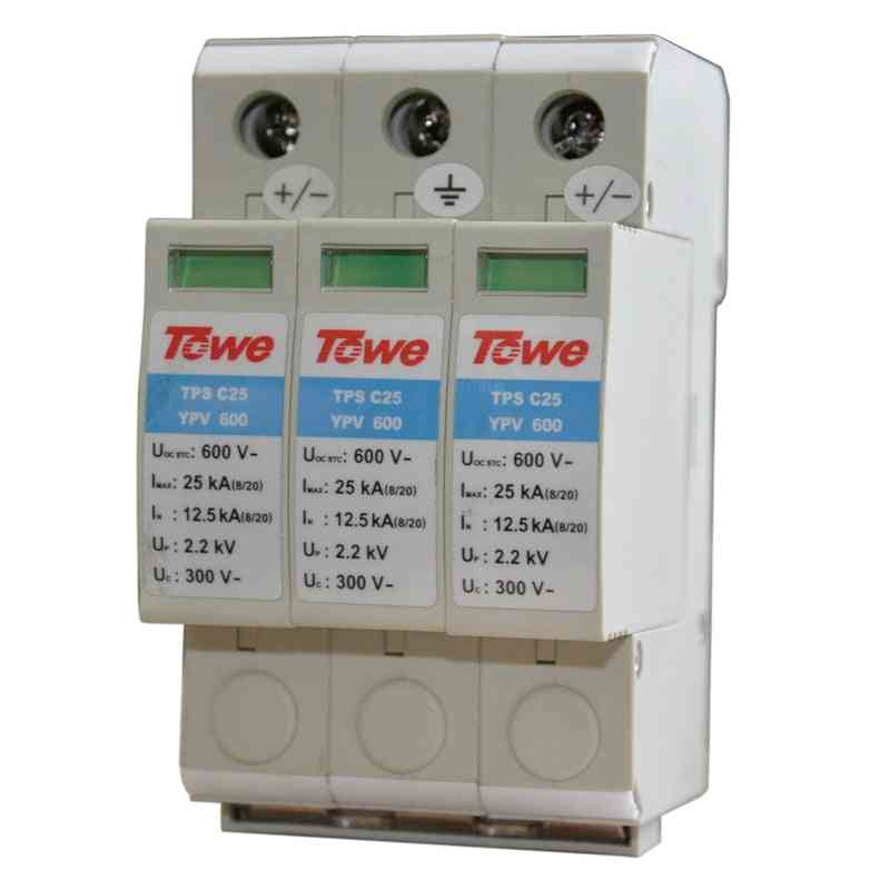 Pv Systems 600v Dc System Power Class C Protection / Thunder Protector