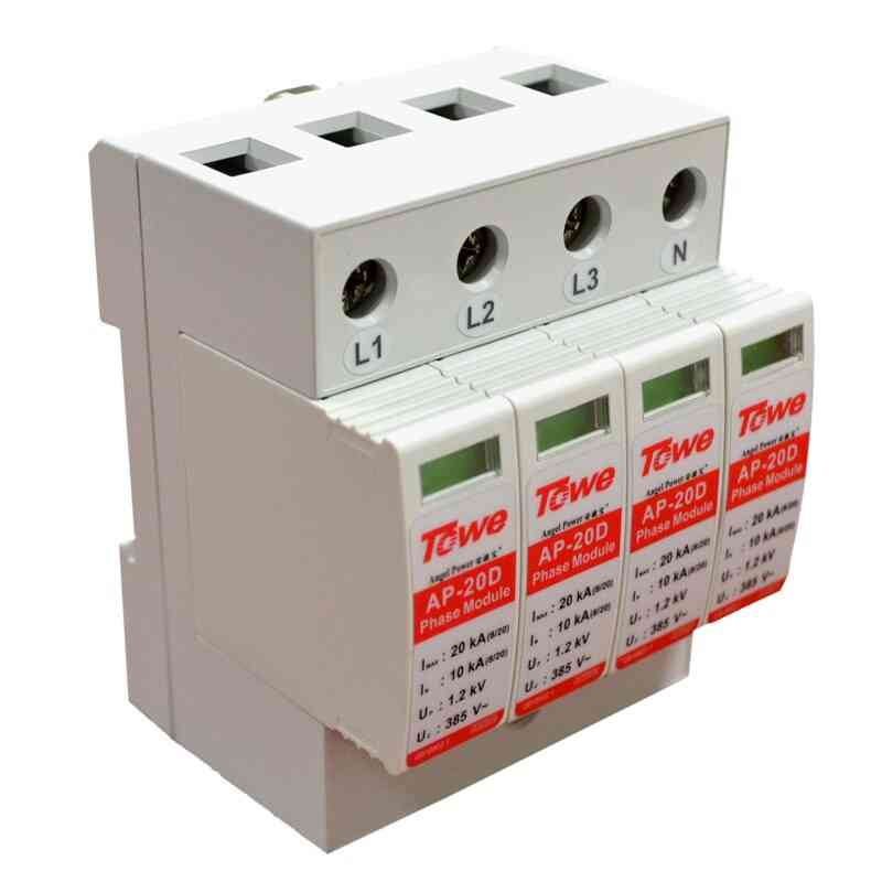 Three Phase Surge Protective Device & Over Voltage Protector