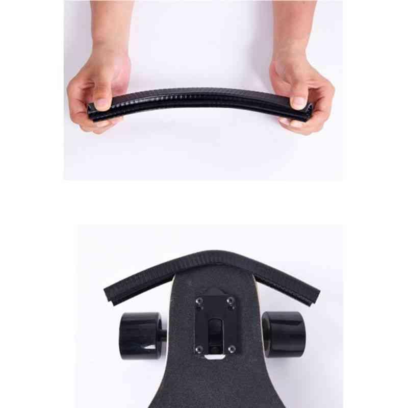 Skateboard Deck Guards Protector, Double Rocker Board, Longboard Edge Nose Tail, Bump Protection, Bumper Cover