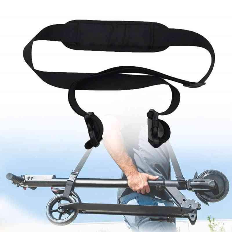 Adjustable Non-slip Shoulder Strap Belt, Carrying Electric Scooter Hand Straps Belts