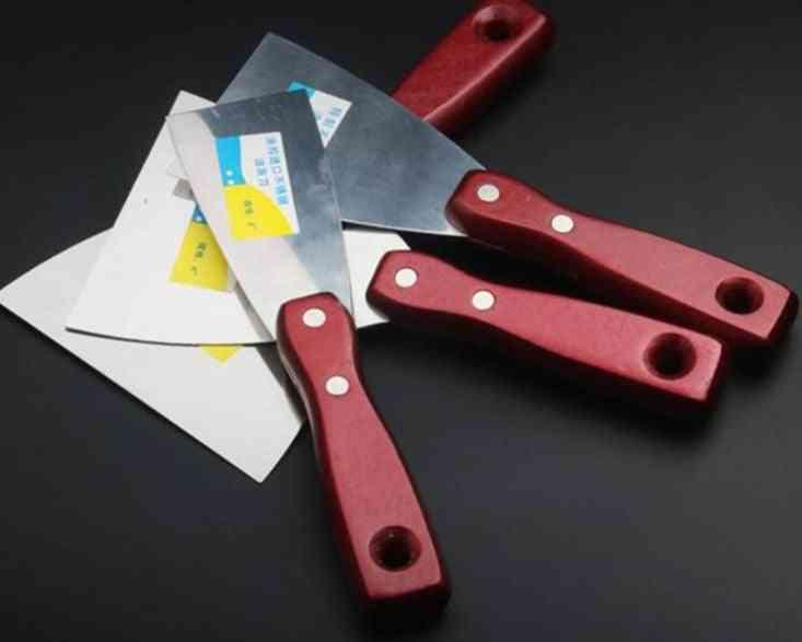 Putty Knife Wood Handle Scraper