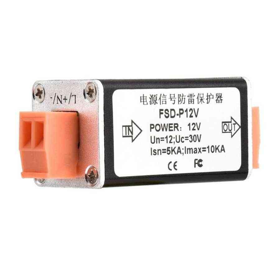 Extension Line Thunder Lighting Arrester Security Protection Device 12v