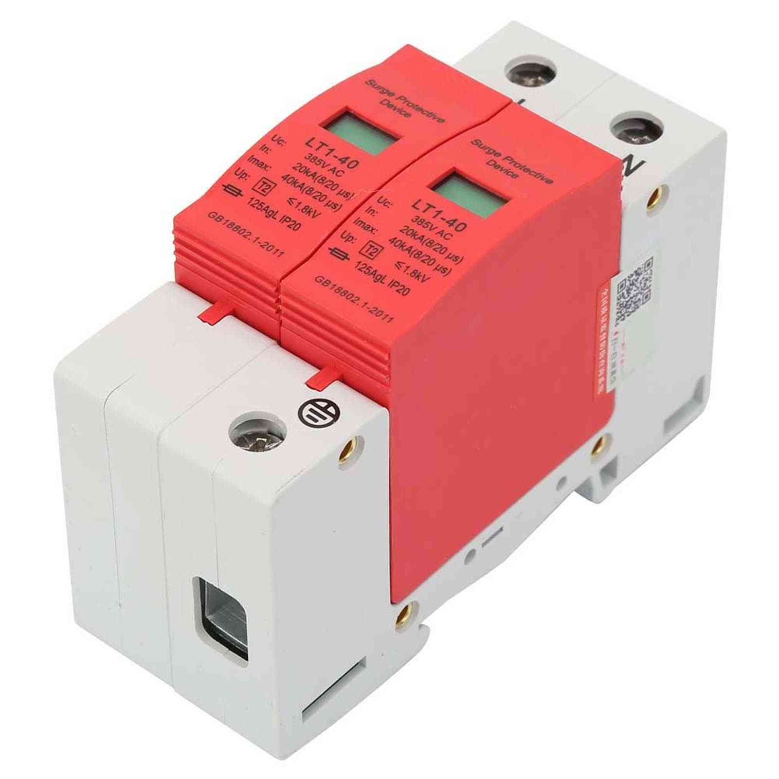 Surge Protective Device  Thunder /low-voltage Arrester Rail Mounting