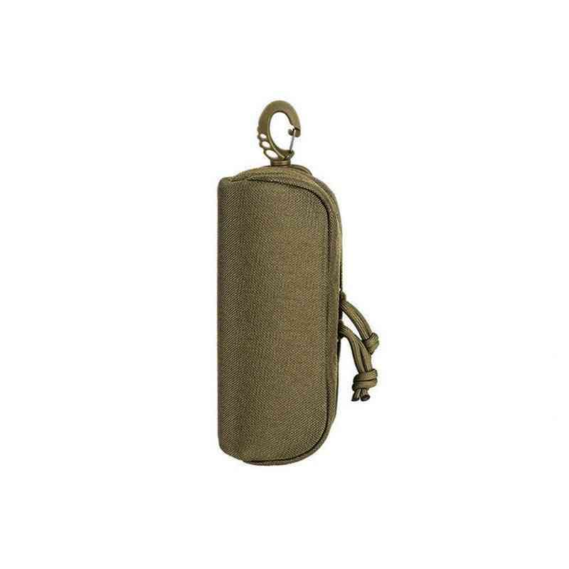 Outdoor Hunting Sunglasses Case Military Molle Pouch Goggles Storage Box Bag