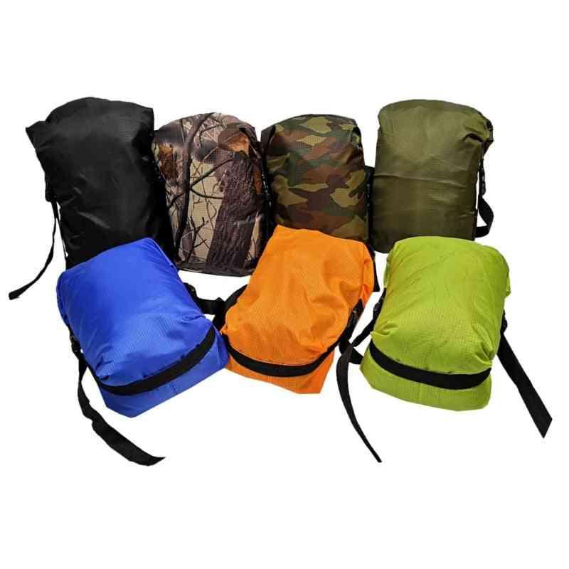 Sleeping Bag Pack, Stuff Sack Storage, Carry Bag Accessories