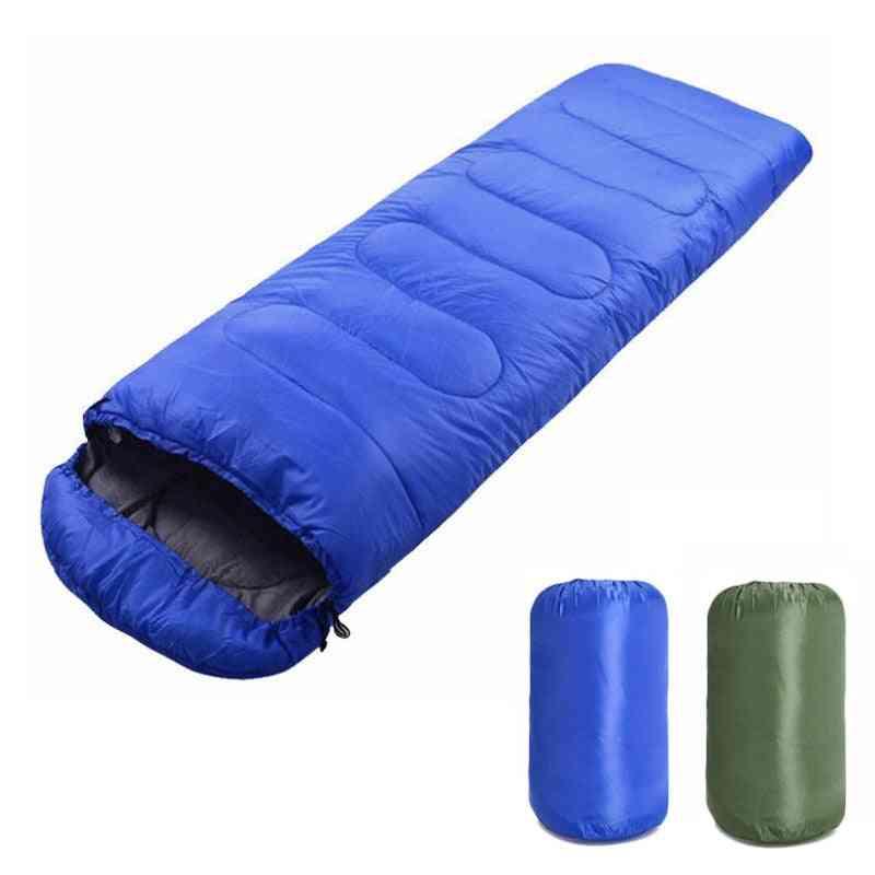 Portable Lightweight, Envelope Sleeping Bag With Compression Sack