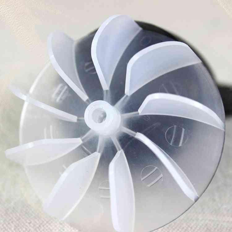 Plastic Fan Blade For Hair Dryer Fan Parts