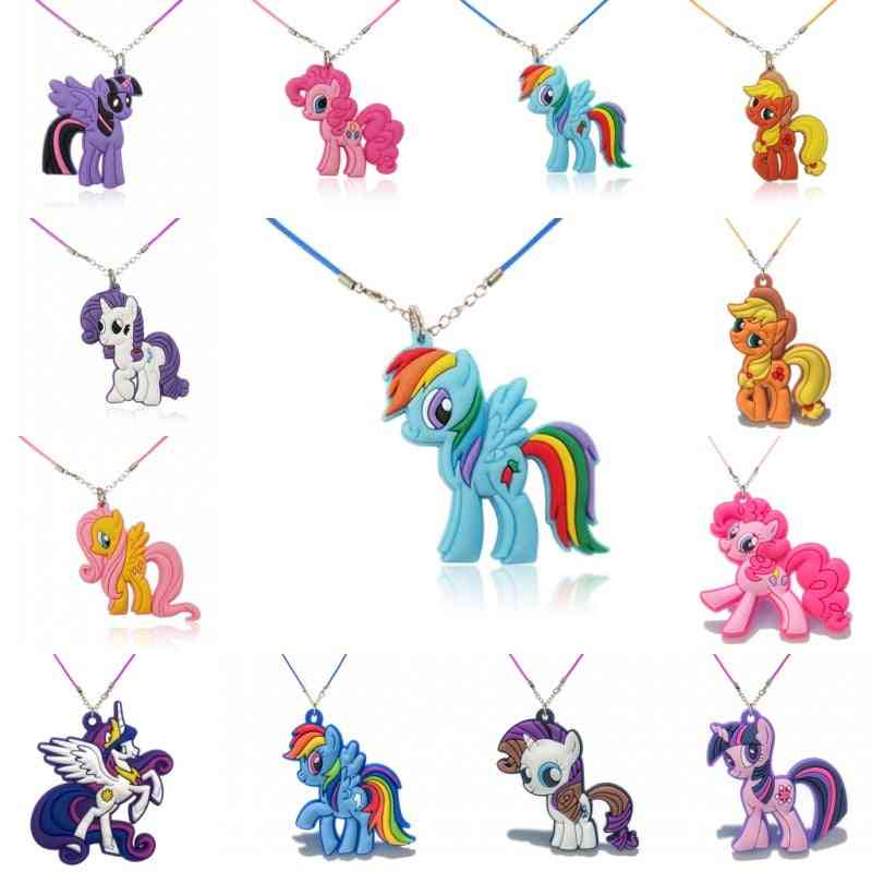 Necklace Cartoon  Chain Pendant Cute Minnie Charms