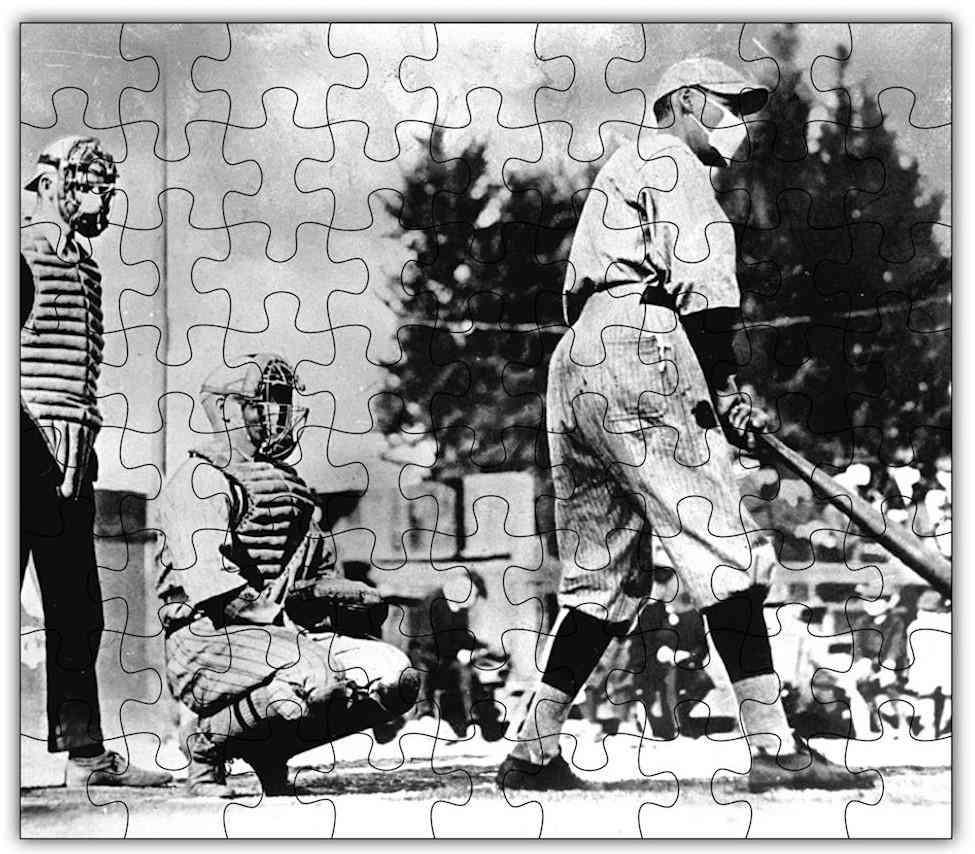 Spanish Flu Baseball Puzzle #6801