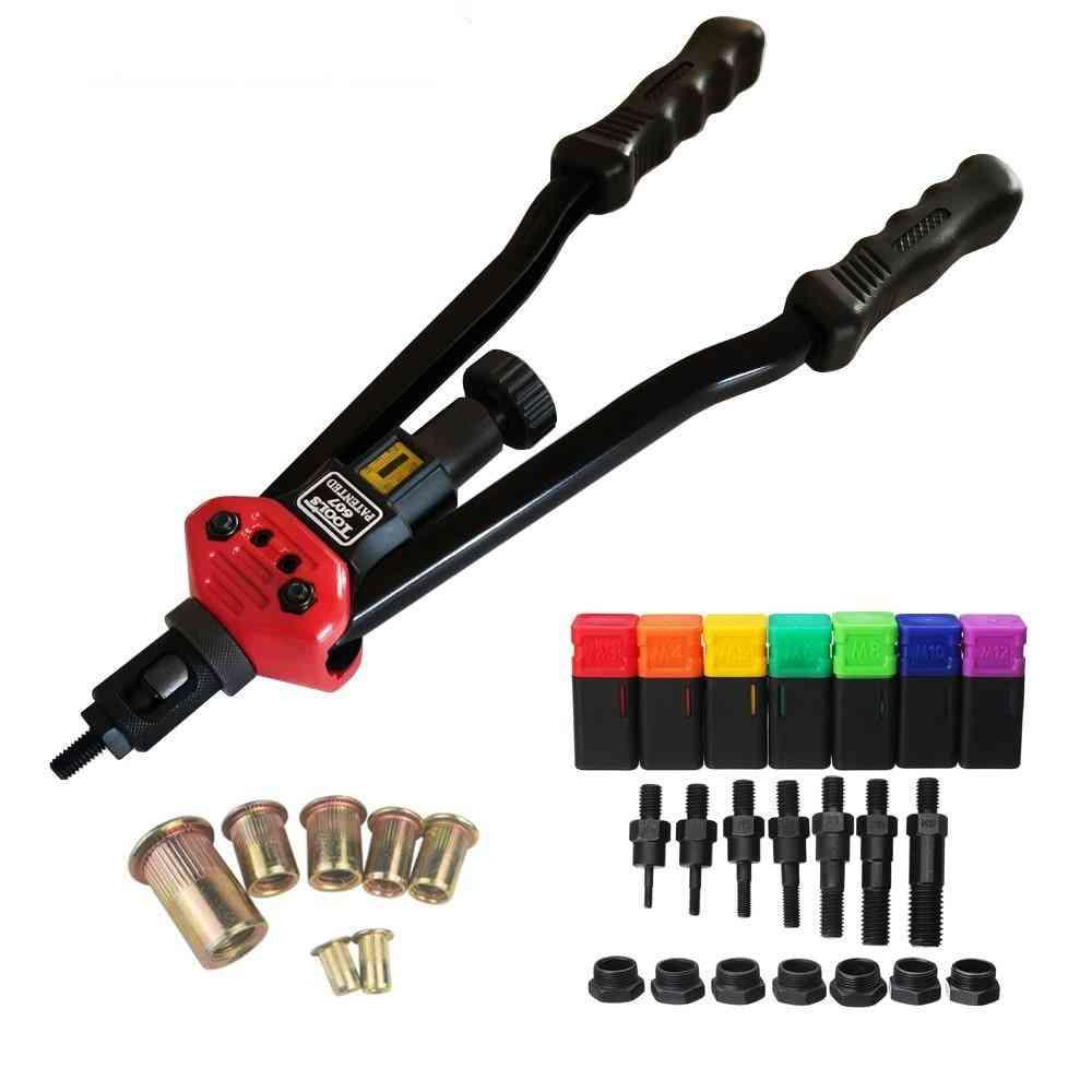 Bt-607 Rivet Nut Tool Hand Blind Riveter Rivet Gun