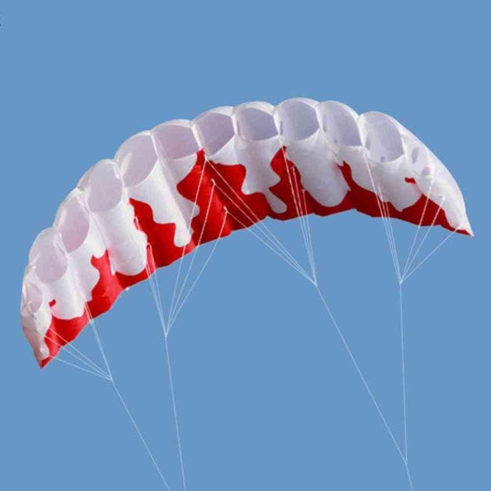 Rainbow Dual Line, Kitesurfing Stunt Parachute, Soft, Parafoil Surfing Kite, Sport Outdoor Activity, Beach Flying