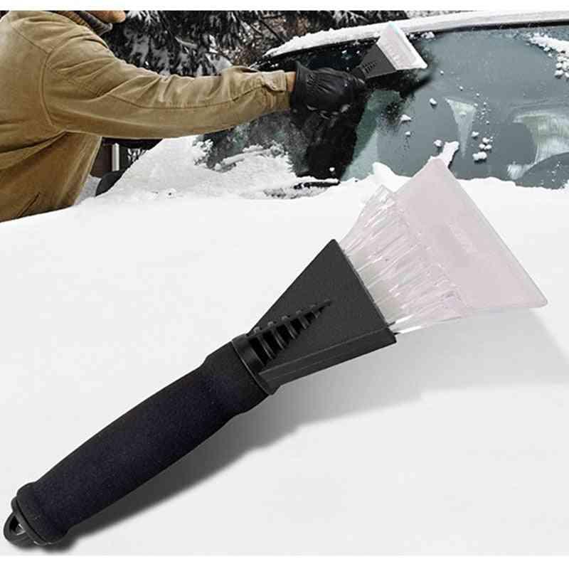 Car Ice Scraper Snow Brush