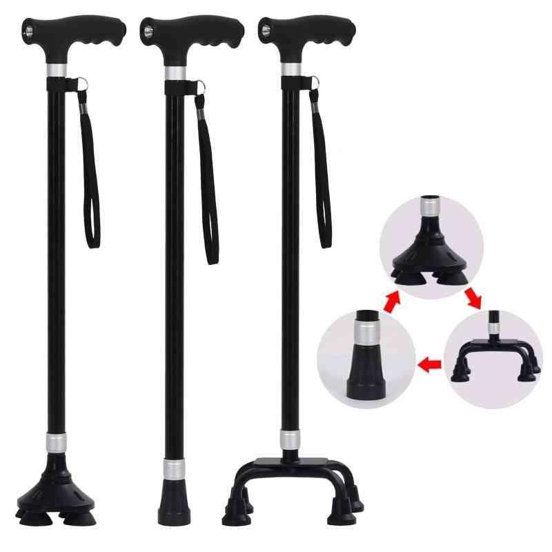 Walking Sticks- Telescopic Foldable, Cane Portable, Hike Retractable Sticks