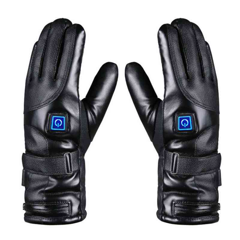 Rechargeable Electric Warm Heated Gloves