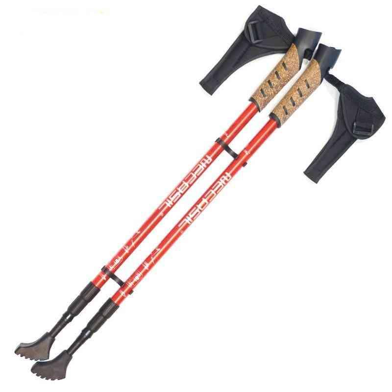 Foldable Adjustable, Telescopic, Trekking Poles, Walking Sticks