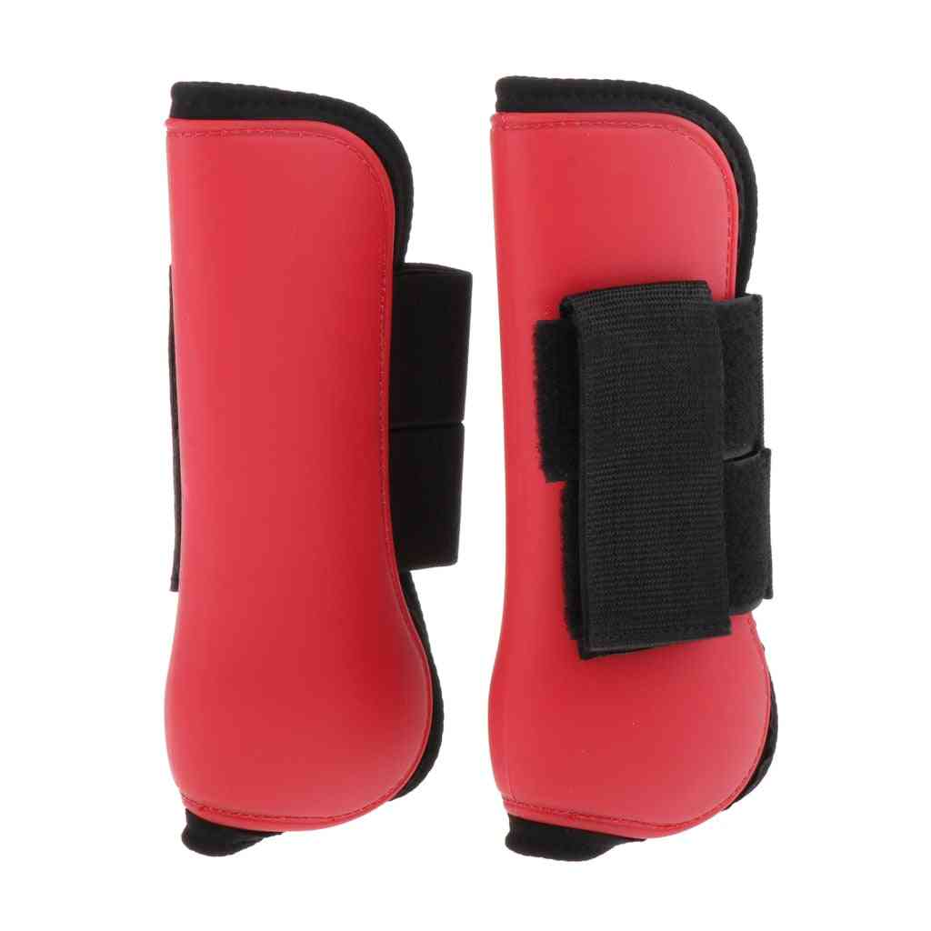 1 Pair Professional Equine Horse Horse Exercise Jumping Boots