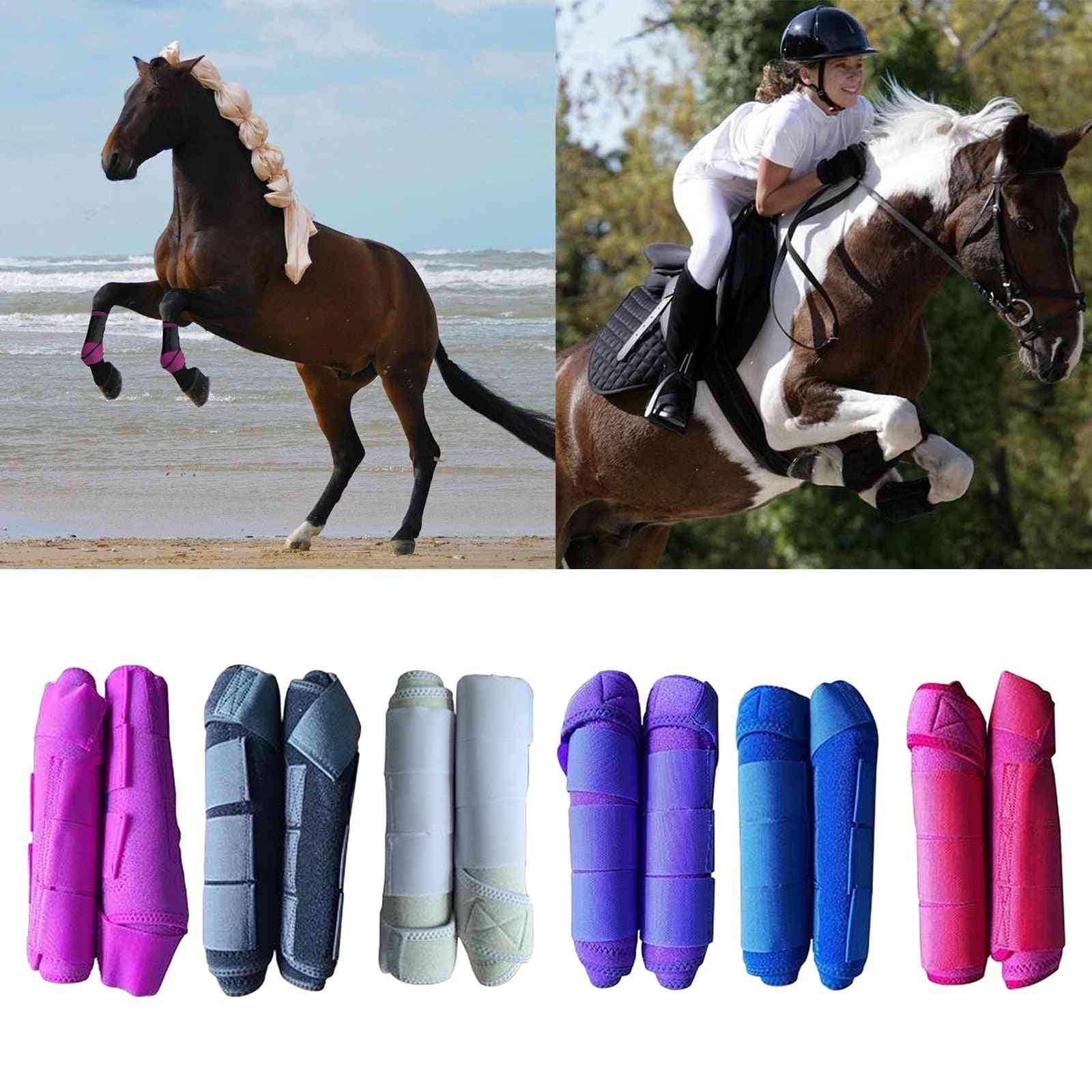 Professional Horse Tendon Boots, Pony Front Leg Wraps Support Protector