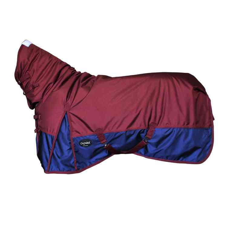 Autumn/winter Evening Neck Riding Jacket Waterproof Breathable Warm Horse Rugs