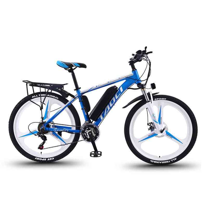 26 Inch 27 Speed Electric Mountain Bike Long Endurance Power-assisted Bicycle